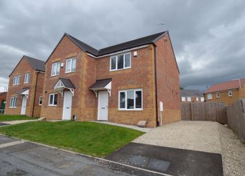 Thumbnail 2 bed semi-detached house for sale in Hyperion Way, Newcastle Upon Tyne