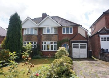 Thumbnail 3 bed semi-detached house for sale in Rowan Road, Sutton Coldfield