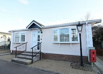 Thumbnail 2 bed mobile/park home for sale in Lordsway Park Homes, High Street, Alconbury, Huntingdon