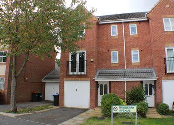 Thumbnail 4 bedroom semi-detached house for sale in Burberry Avenue, Hucknall, Nottingham