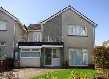 Thumbnail 4 bed detached house for sale in Trenewydd Rise, Cimla, Neath .