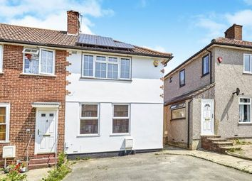 Thumbnail 3 bedroom end terrace house for sale in Dunkery Road, London