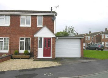 Thumbnail 2 bed semi-detached house to rent in Knightley Way, Gnosall, Staffordshire