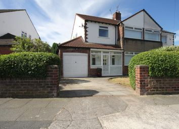 Thumbnail 3 bed semi-detached house to rent in Waylands Drive, Woolton, Liverpool