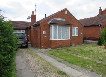Thumbnail 3 bed detached bungalow for sale in Radford Park Avenue, South Kirkby, Pontefract