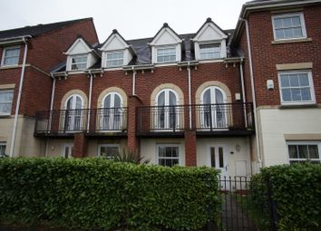 Thumbnail 4 bed terraced house for sale in Lexington Walk, Warrington