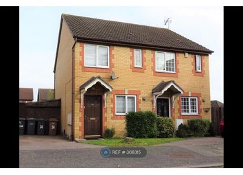 Thumbnail 2 bed semi-detached house to rent in Simpson Close, Leagrave, Luton