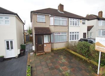 Thumbnail 3 bed semi-detached house for sale in Bradenham Avenue, Welling