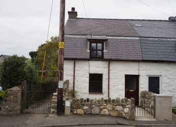 Thumbnail 2 bed semi-detached house for sale in Bethel, Caernarfon