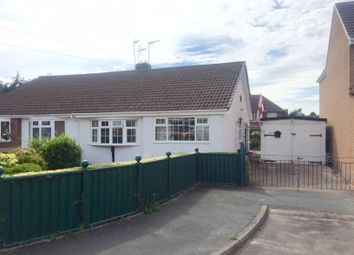 Thumbnail 2 bedroom semi-detached bungalow for sale in Buckwell Road, Sapcote, Leicester
