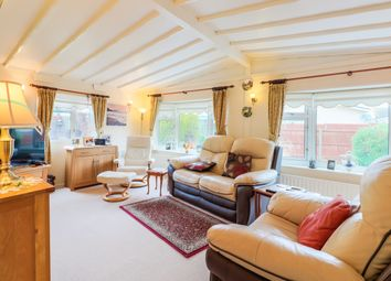 Thumbnail 2 bed mobile/park home for sale in The Lawns, Wootton Wawen