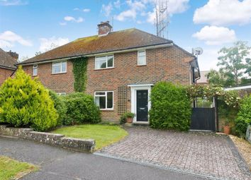 Thumbnail 3 bed semi-detached house for sale in Queen's Road, Lewes, East Sussex