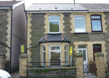 Thumbnail 3 bed end terrace house for sale in Park Street, Cwmcarn, Newport