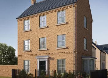 "Thumbnail 4 bed semi-detached house for sale in ""The Moulton"" at Iowa Road, Alconbury, Huntingdon"