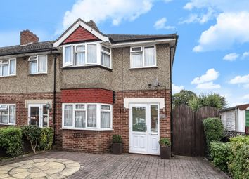 Thumbnail 3 bed end terrace house for sale in Grove Crescent, Feltham