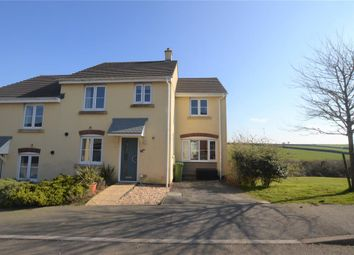 Thumbnail 4 bed semi-detached house for sale in Plover Avenue, Helston, Cornwall