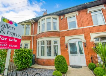 Thumbnail 4 bed terraced house for sale in Nursery Court, Llwyn Y Pia Road, Lisvane, Cardiff