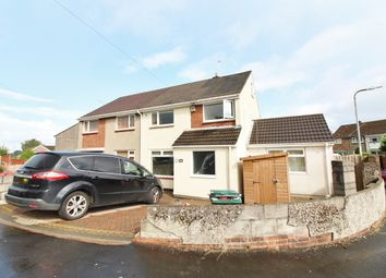 Thumbnail 3 bed semi-detached house for sale in Monnow Way, Bettws, Newport