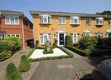 Thumbnail 3 bed end terrace house for sale in Bates Walk, Addlestone, Surrey