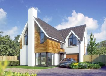 Thumbnail 4 bed detached house for sale in Sky End Lane, Hordle, Lymington