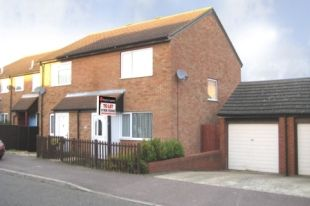 Thumbnail 2 bed semi-detached house to rent in Downland, Two Mile Ash