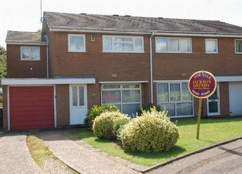 Thumbnail 4 bed semi-detached house for sale in Poplar Court, Boothville, Northampton
