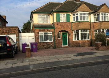 Thumbnail 4 bed semi-detached house to rent in Woolacombe Road, Childwall, Liverpool