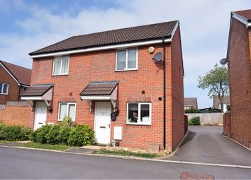 Thumbnail 2 bed semi-detached house for sale in Trowbridge Close, Swindon