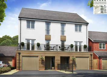 Thumbnail 4 bed town house for sale in Main Street, Branston, Burton-On-Trent