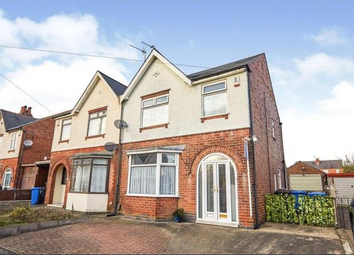 Thumbnail 3 bed semi-detached house to rent in Hayes Avenue, Normanton, Derby