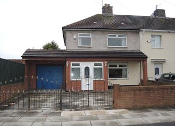 Thumbnail 3 bed end terrace house for sale in Baycliff Road, West Derby, Liverpool