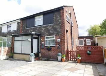 Thumbnail 4 bed semi-detached house for sale in Churchill Crescent, Marple, Stockport
