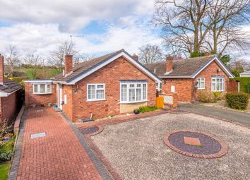 Thumbnail 2 bed detached bungalow for sale in Chestnut Close, Hanwood, Shrewsbury