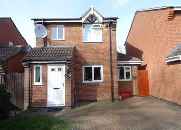 3 bed detached house for sale in Kinross Way, Hinckley LE10
