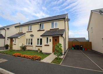 Thumbnail 3 bed semi-detached house for sale in St Davids Park, Llanfaes, Brecon