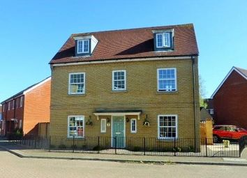 Thumbnail 5 bed detached house for sale in Carus Crescent, Highwoods, Colchester