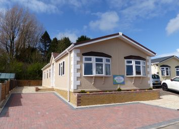 Thumbnail 2 bed mobile/park home for sale in Heronston Lane, Bridgend, Bridgend.