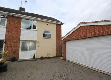 Thumbnail 3 bedroom semi-detached house for sale in Cherry Road, Blaby, Leicester, Leicestershire LE8 4Af
