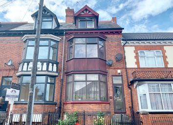 Thumbnail 4 bedroom terraced house for sale in East Park Road, Leicester
