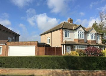Thumbnail 3 bed semi-detached house for sale in Amis Avenue, West Ewell, Epsom