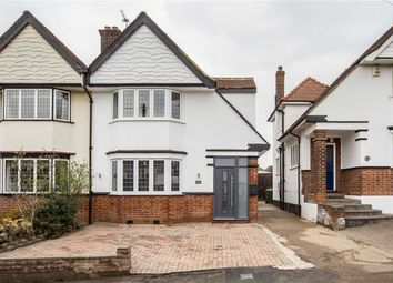 Thumbnail 3 bed semi-detached house for sale in Priory Avenue, London