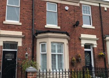 Thumbnail 3 bed terraced house for sale in Hall Road, Hebburn