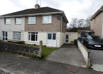 Thumbnail 3 bed semi-detached house for sale in Pant Glas, Pencoed, Bridgend