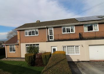 Thumbnail 4 bed semi-detached house for sale in Moorland View, Crownhill, Plymouth