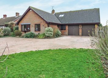 Thumbnail 5 bedroom detached bungalow for sale in Mill Road, Mendlesham, Stowmarket