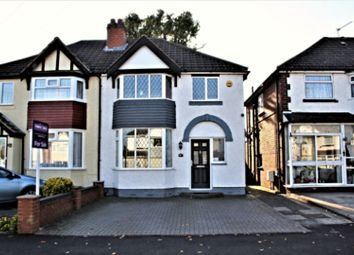 Thumbnail 3 bed semi-detached house for sale in Richmond Road, Birmingham