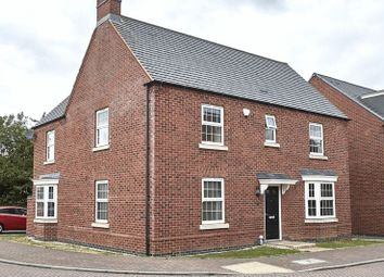 Thumbnail 4 bed detached house for sale in Cornfield Close, Ellistown, Coalville