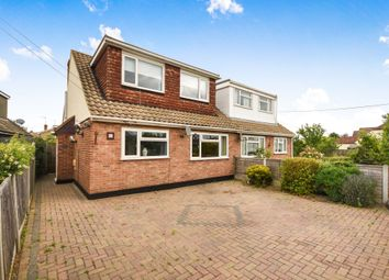 Thumbnail 4 bed semi-detached house for sale in Waxwell Road, Hullbridge, Hockley
