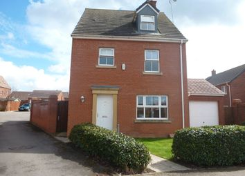Thumbnail 4 bed detached house for sale in Buttercup Road, Desborough, Kettering