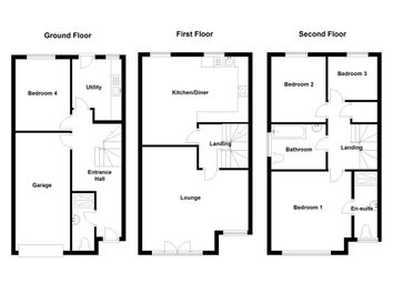 Thumbnail 4 bedroom semi-detached house for sale in Wyncliffe Gardens, Pentwyn, Cardiff